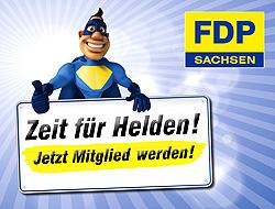 Zeit für Helden - FDP-Mitglied werden
